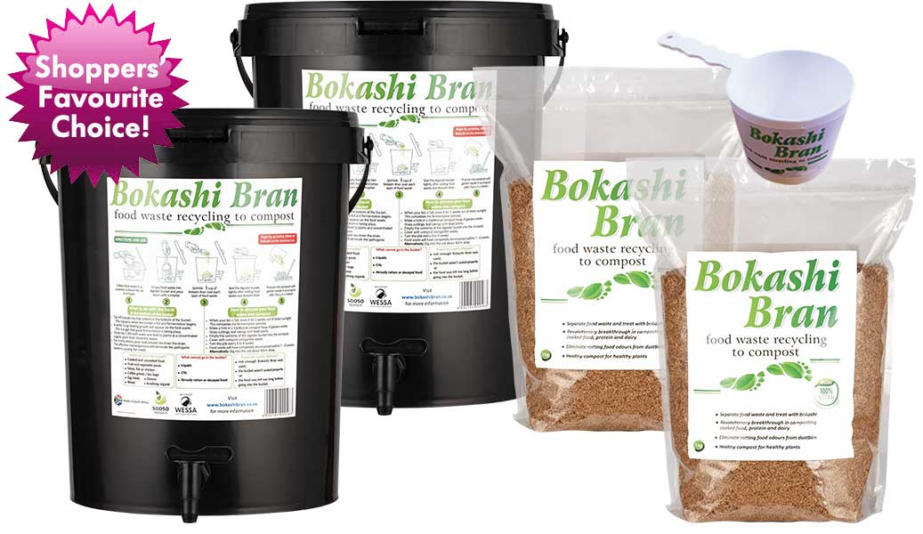 Bokashi Bran starter kit