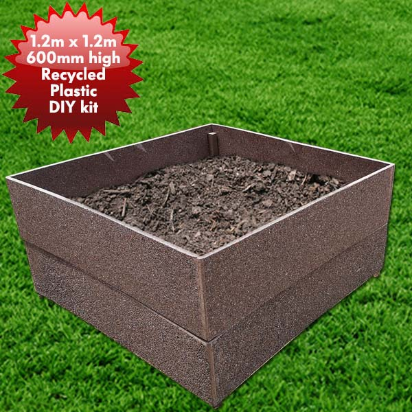 recycled plastic compost box